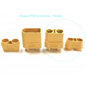 XT90-Y-F AMASS CONNECTOR Female (1 PC)