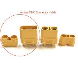 XT90-Y-M AMASS CONNECTOR Male (1 PC)