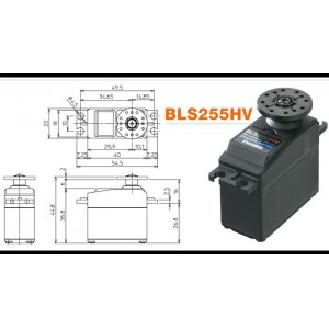 FUTABA BLS255HV Brushless High Speed High Voltage Servo