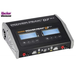 Hacker 10107536 POWER PEAK D7 EQ-BID 12V/230V-Duo (Preorder)