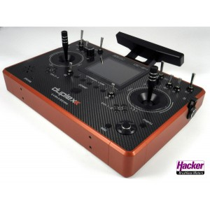 Hacker 80001597 Transmitter DUPLEX DC-24 Carbon Line Dark Orange Multimode (Preorder)