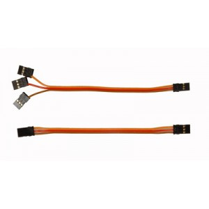 "MIK4284E Mini V-Bar Patchcable (180mm / 6.25"")"