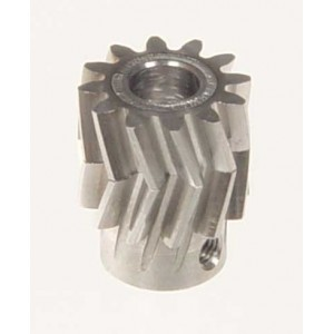 MIK4412  Pinion for herringbone gear 12 teeth M1 Dia.6mm