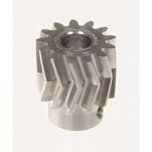 MIK4413 Pinion for herringbone gear 13 teeth M1 Dia.6mm