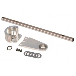 MIK4623-Mikado Motor Counterbearing/Main Shaft Support Upgrade Kit 600SX