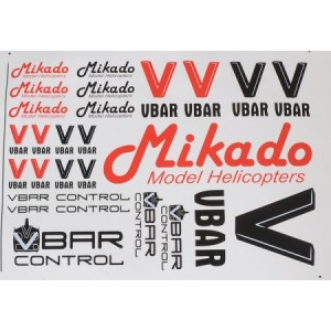 MIK4901 VBar / VControl Decal Set