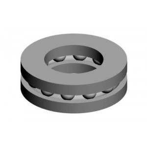 MIK0727 Thrust bearing 4x8x3,5