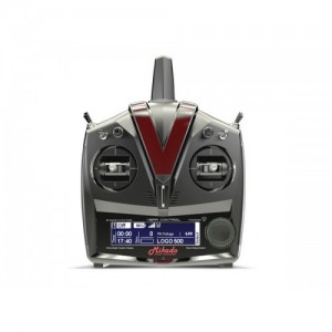 MIK4841 VBar Control Radio, grey/black, RX-Satellite