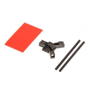 MIK4953 Antenna support flat mounting, black