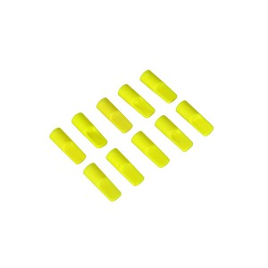 MIK5083 Cover cap for 5,5mm gold connector, neon-yellow