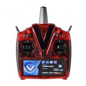 MIK5224  VBar Control Touch, red transparent
