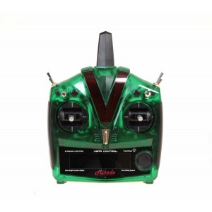 MIK4971 VBar Control Radio, green transparent