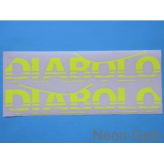 "MCD142a Decal ""Diabolo"" fluorescent"