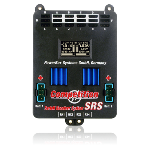 PB4420 PowerBox Competition SRS incl. SensorSwitch, adapter cable
