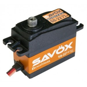 Savox SB-2271SG Monster Torque Brushless Steel Gear Digital Servo