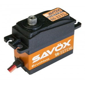 SAVOX SB-2272MG HV BL Digital Servo .032/97.2 Tail Servo