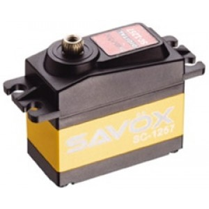 SAVOX SC-1257TG Super Speed Titanium Gear Digital Servo