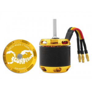 Scorpion HKIII-4025-1100KV Motor with 6mm shaft suitable for Logo550