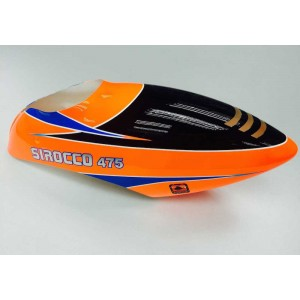KS0010 SIROCCO Orange Blue Canopy 475