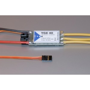 YGE 40 LV VBAR READY AND SPEED SENSE OUTPUT